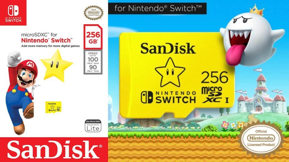 任天堂スイッチのおすすめmicroSDカード(メモリーカード)と必要容量