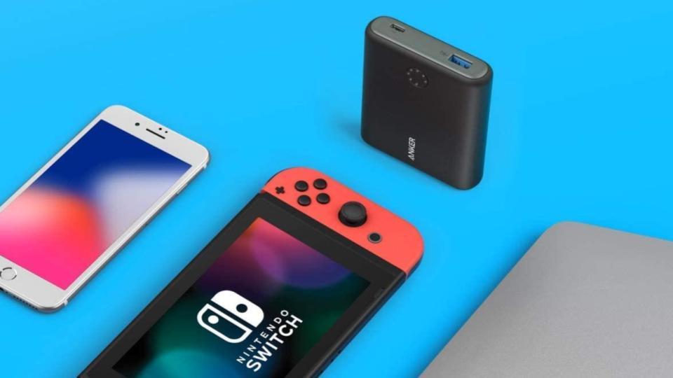 任天堂スイッチのおすすめモバイルバッテリーと充電器
